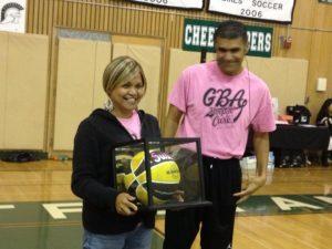 GBA honors a brave volunteer