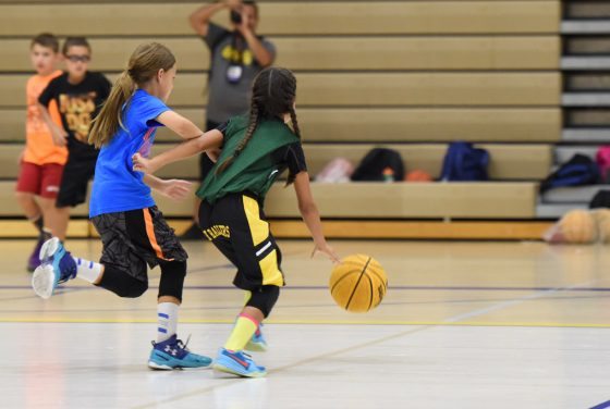 Nayeli from GBA was balling at camp