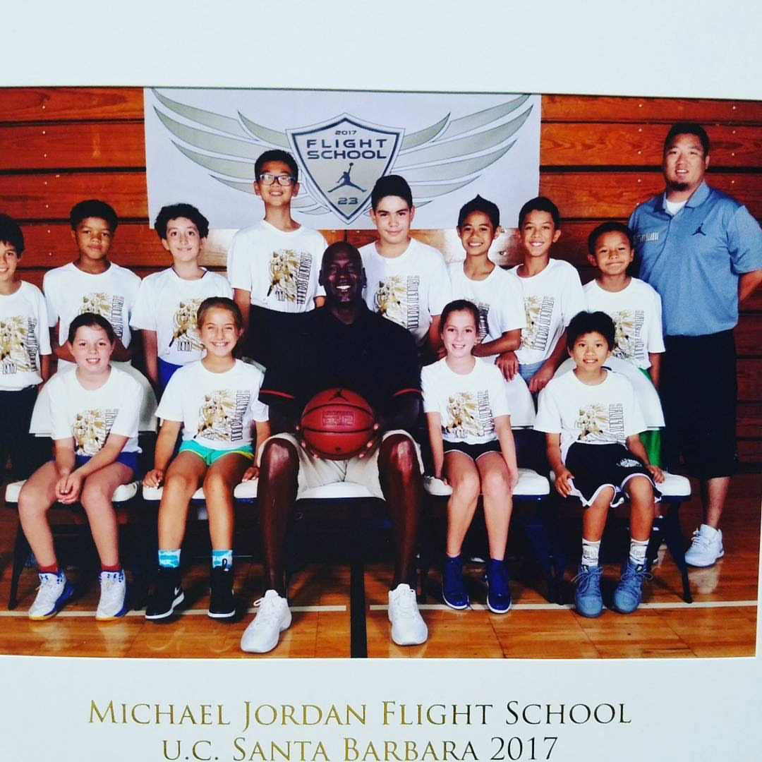 b7c40170541 ... it was an epic week of camp that solidified gbas existence with the  goat michael jordan