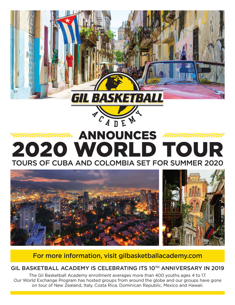GBA World Tour Flyer