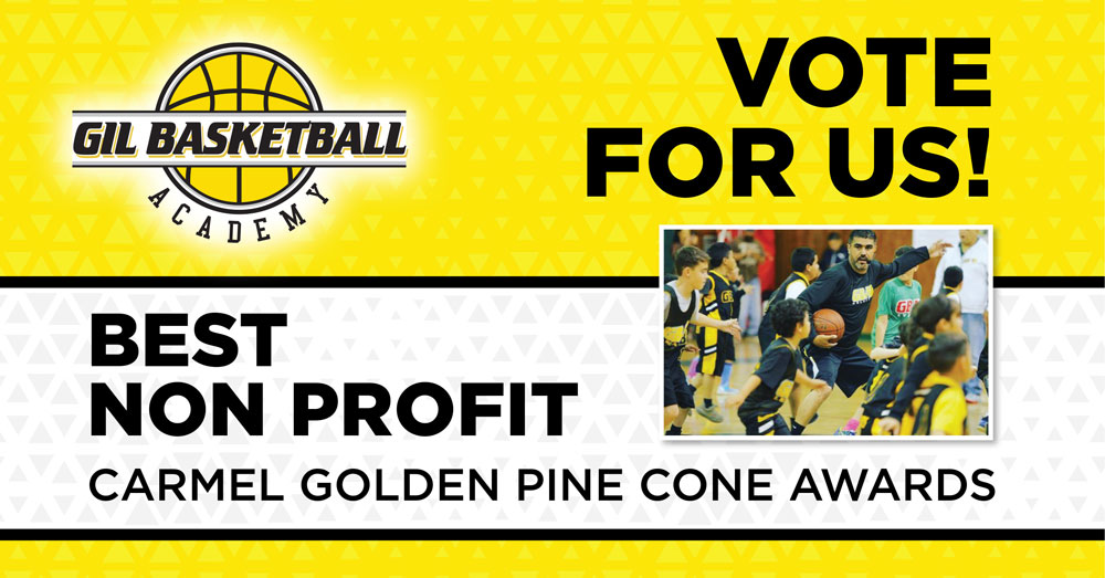 Vote for Us. Best Nonprofit Carmel Golden Pine Cone Awards